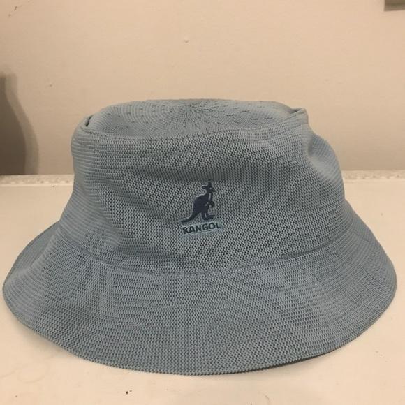 Kangol Accessories - Vintage Kangol Baby Blue Bucket Hat a1260e4ff7d